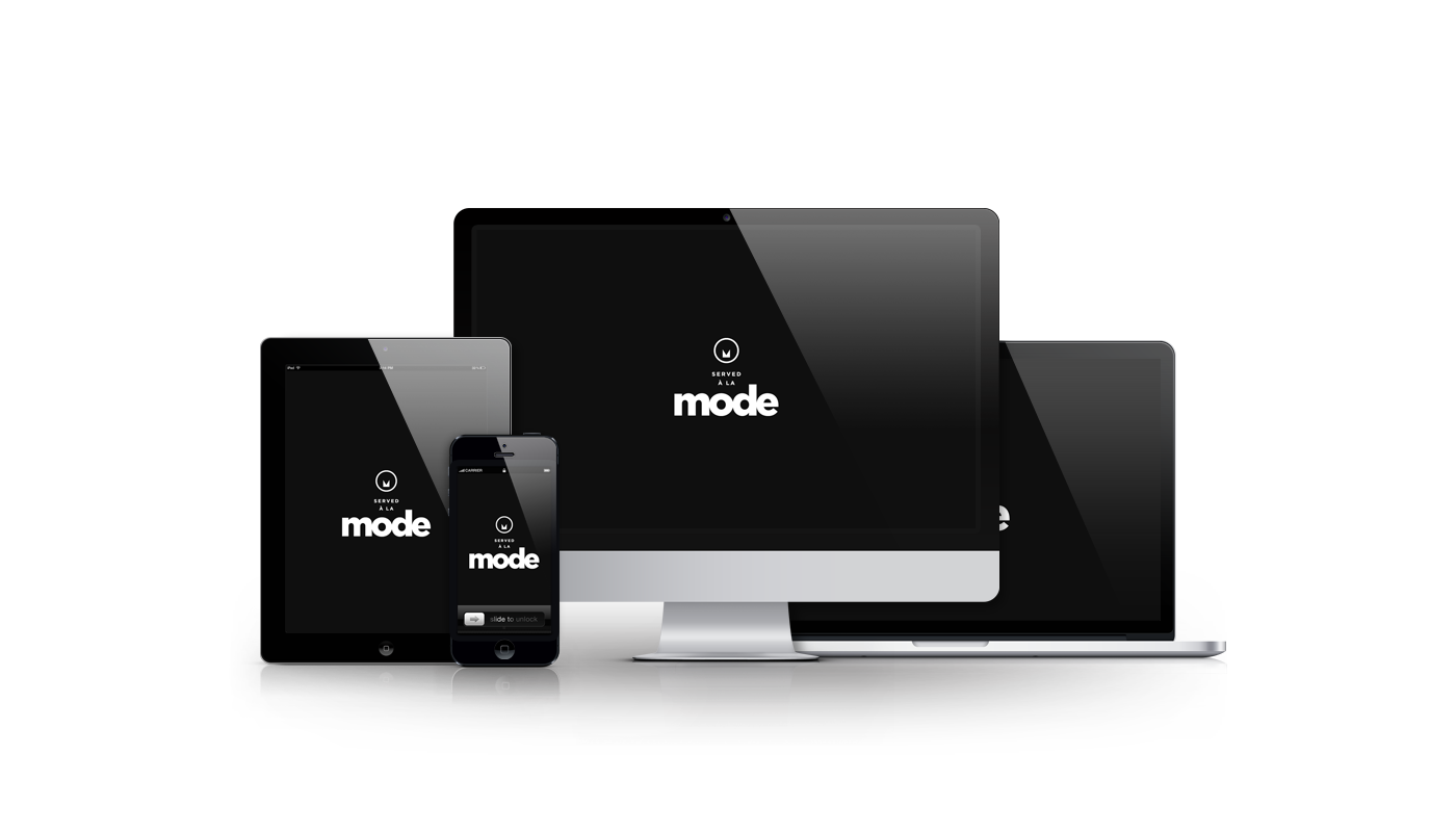 Served A La Mode website developed by Magick Media